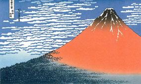 ukiyoe fuji