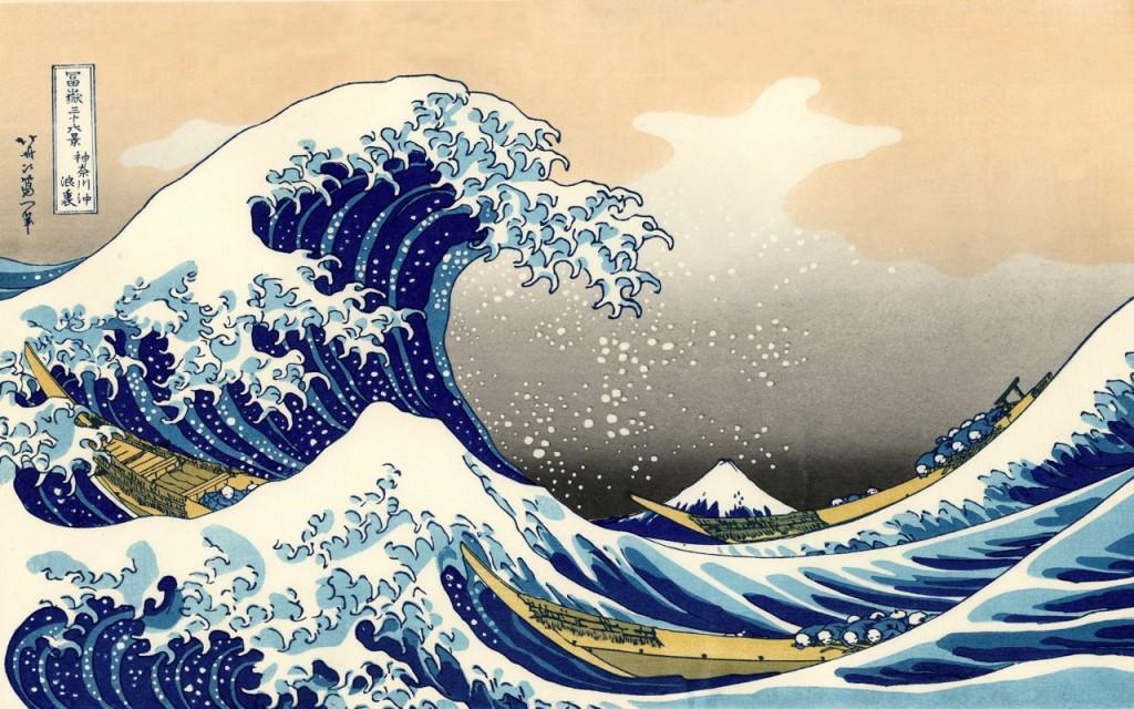 ukiyoe hokusai