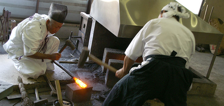 katana forging