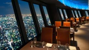 tokyo restaurant view