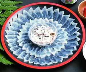 sashimi fugu